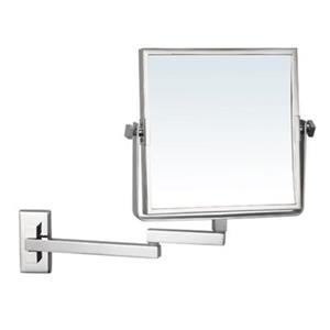 Nameeks Glimmer 8-in x 8-in Square Wall Mounted Make-Up Mirror