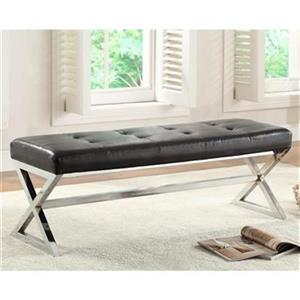Homelegance Faux Leather Rory Bench