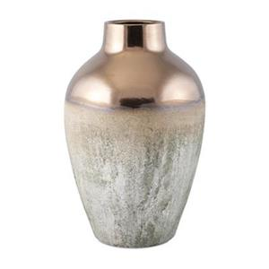IMAX Worldwide Hargrove 22-in Gold Large Metallic Top Vase
