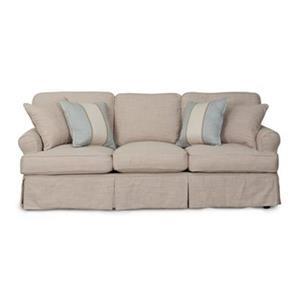 Sunset Trading Horizon Brown Sofa Slipcover Set