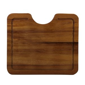 ALFI Brand 16.50-in x 14.50-in Wood Cutting Board