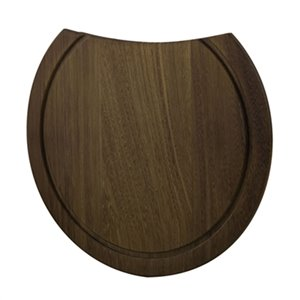 ALFI Brand 15-in Round Wood Cutting Board