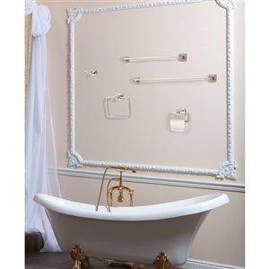 Dyconn Faucet Reno Euro Bathroom Accessory Set - Antique Brass - 5 pcs