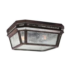Feiss Londontowne Brown 2-Light Outdoor Close to Ceiling Light