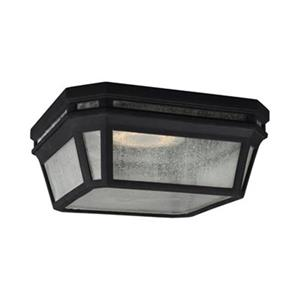 Feiss Londontowne Black LED Outdoor Close to Ceiling Light