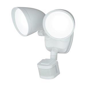 Cascadia Tau Smart Lighting 2-Level White LED Motion Sensor Dusk to Dawn Security Light