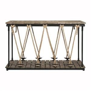 IMAX Worldwide Astern Rope Console Table