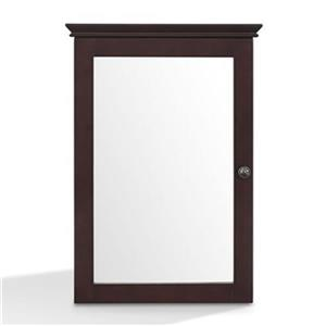 Crosley Furniture CF7005 Lydia Mirrored Wall Cabinet,CF7005-