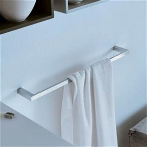 WS Bath Collections Divo 24.40-in Polished Chrome Towel Bar