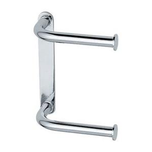 WS Bath Collections Hotellerie Polished Chrome Double Toilet Paper Holder