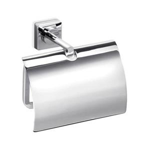 WS Bath Collections Quadro Polished Chrome Toilet Paper Holder