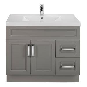 "Urban Freestanding Bathroom Vanity - 36"" - Grey"
