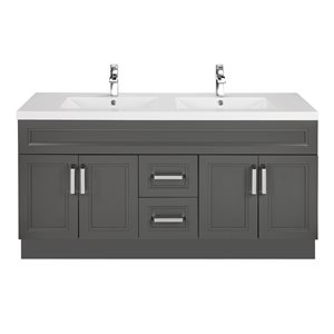 Urban Collection Double Bowl with 2-in Top