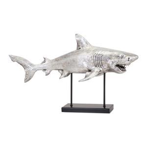 IMAX Worldwide Magnesia/Iron Shark-Alley Sculpture