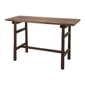 IMAX Worldwide Farm Work 47-in x 29.50-in Brown Mango Wood Desk