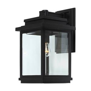 Artcraft Lighting Freemont 1-Light Large Black Outdoor Sconce