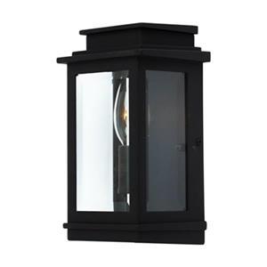 Artcraft Lighting Freemont Small Black Outdoor Sconce