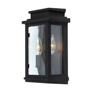 Artcraft Lighting Freemont Medium Black Outdoor Sconce