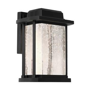 Artcraft Lighting Addison Large Black LED Outdoor Wall Light