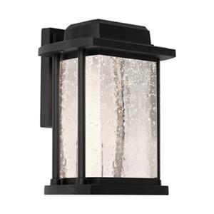 Artcraft Lighting Addison Small Black LED Outdoor Wall Light