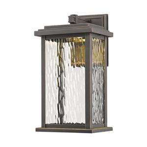 Artcraft Lighting Sussex Small Oil Rubbed Bronze Outdoor LED Wall Sconce