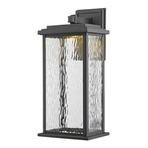 Artcraft Lighting Sussex Large Black Outdoor LED Wall Sconce