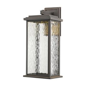 Artcraft Lighting Sussex Large Oil Rubbed Bronze Outdoor LED Wall Sconce