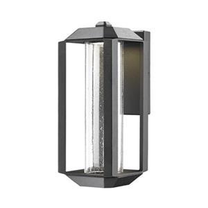 Artcraft Lighting Wexford Small Black LED Outdoor Wall Light