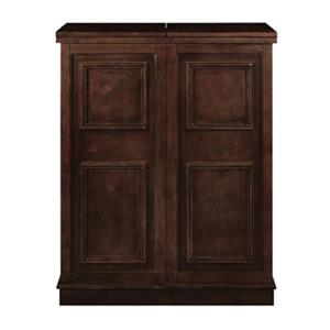RAM Game Room Products 44-in x 36-in Cappuccino Brown Portable Folding Bar Cabinet