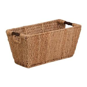 Honey Can Do 10-in x 10.50-in Large Wicker Sea Grass Basket with Handles