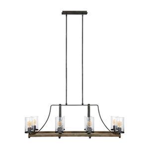 Feiss Angelo 8-Light Pendant Kitchen Island Light
