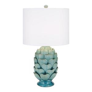 IMAX Worldwide Unocha Dimensional Ceramic Table Lamp