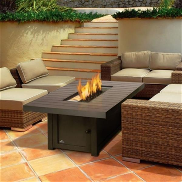 Napoleon St Tropez Propane Natural Gas Patioflame Table Bronze Lowe S Canada