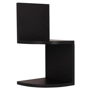 Nexxt Designs Priva Black Corner Shelves (Set of 4)