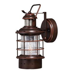 Cascadia Hyannis Dualux Motion Sensor Dusk to Dawn Outdoor Wall Light