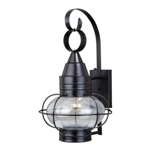 Cascadia Chatham Brass Dusk to Dawn Bronze Outdoor Wall Light