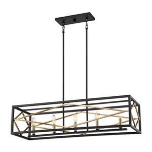 Quoizel Platform 5-Light Pendant Kitchen Island Light