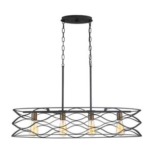 Quoizel Unity 4-Light Pendant Kitchen Island Light