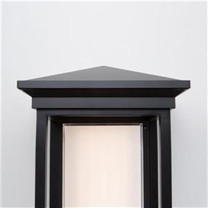 Artcraft Lighting Overbrook Black Outdoor LED Wall Light