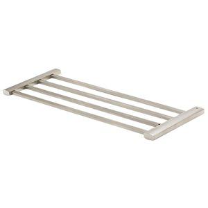 ALFI Brand 24-in Brushed Nickel Towel Bar and Shelf
