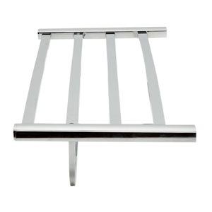 ALFI Brand 24-in Polished Chrome Towel Bar and Shelf