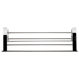 ALFI Brand 26-in Polished Chrome Towel Bar and Shelf