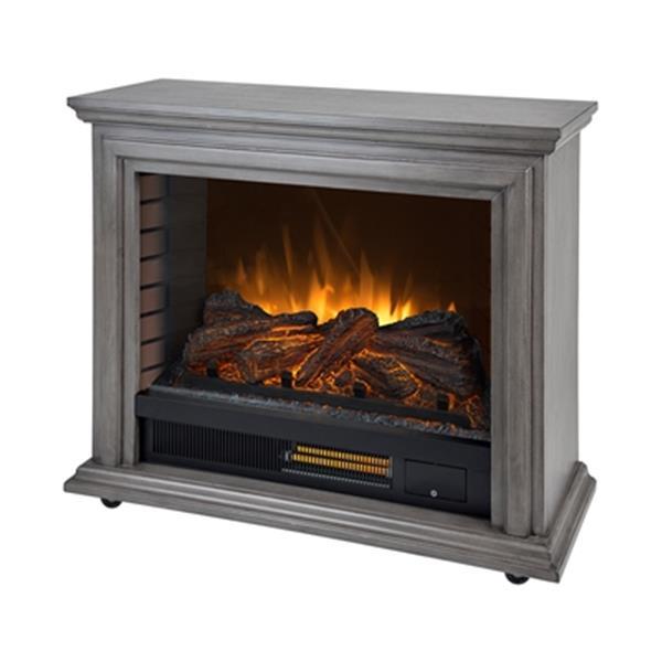 Grey Infrared Electric Fireplace, Muskoka Sloan Fireplace Reviews