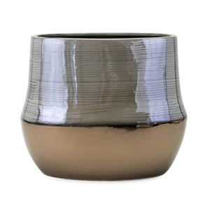 IMAX Worldwide Nabila 20-in Grey Vase
