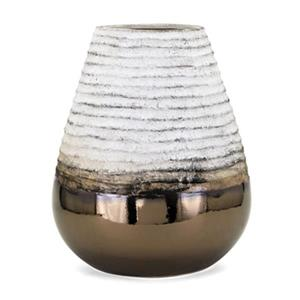IMAX Worldwide Naeem 17-in White Large Vase