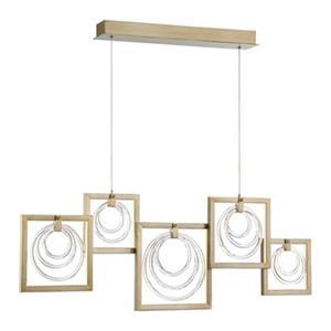 Eurofase Corinna 5-Light Integrated LED Kitchen Island Light