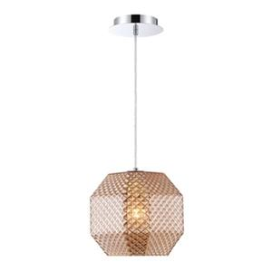 Eurofase 9-in Amber Catalda Mini Pendant Light