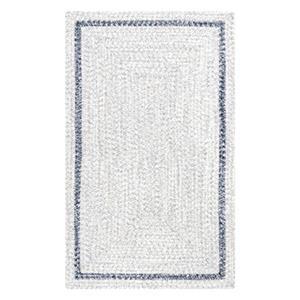 Braided Jestine Grey Indoor/Outdoor Rug