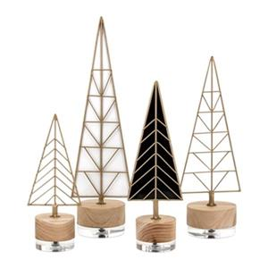IMAX Worldwide Deco Christmas Trees (Set of 4)
