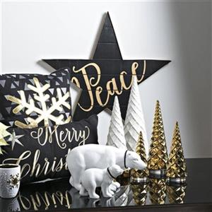 IMAX Worldwide 29-in Starlet Wall Decor (Set of 2)